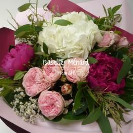bouquet de roses et ses...