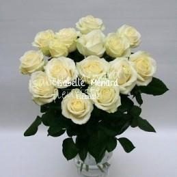 bouquet de grandes roses...