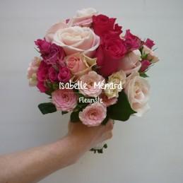 bouquet de mariée de roses...