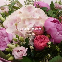 bouquet camaieu rose et ses...