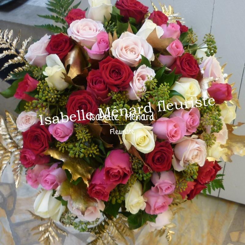 """bouquet """"Noces d'or"""" 50 ans de mariage"""