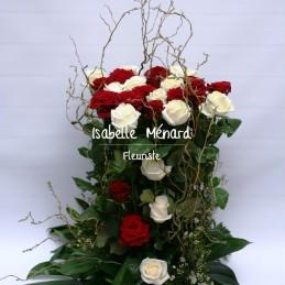 fagot de belles roses