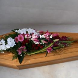 dessus de cercueil spécial...