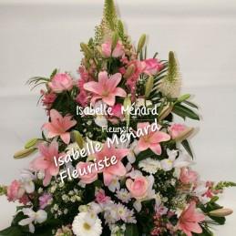 devant de cercueil pastel