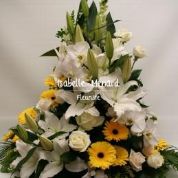 fagot de fleurs variées...
